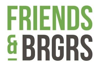 friends and burgers